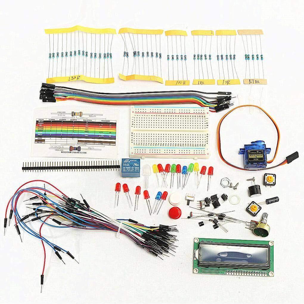 Yongse Proyecto LCD 1602 Starter Kit Set para Arduino UNO R3 Mega ...