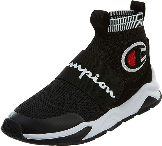 Rally Pro Big C Knit Sock Top Sneaker