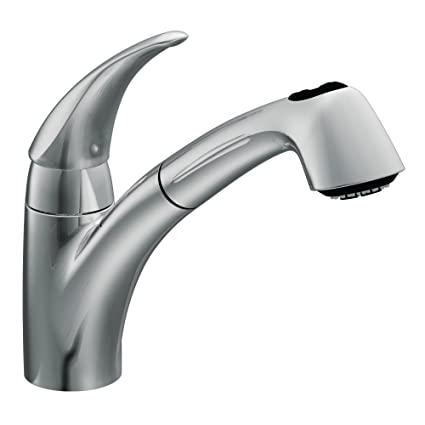 Moen 7560c Extensa One Handle Low Arc Pullout Kitchen Faucet Chrome