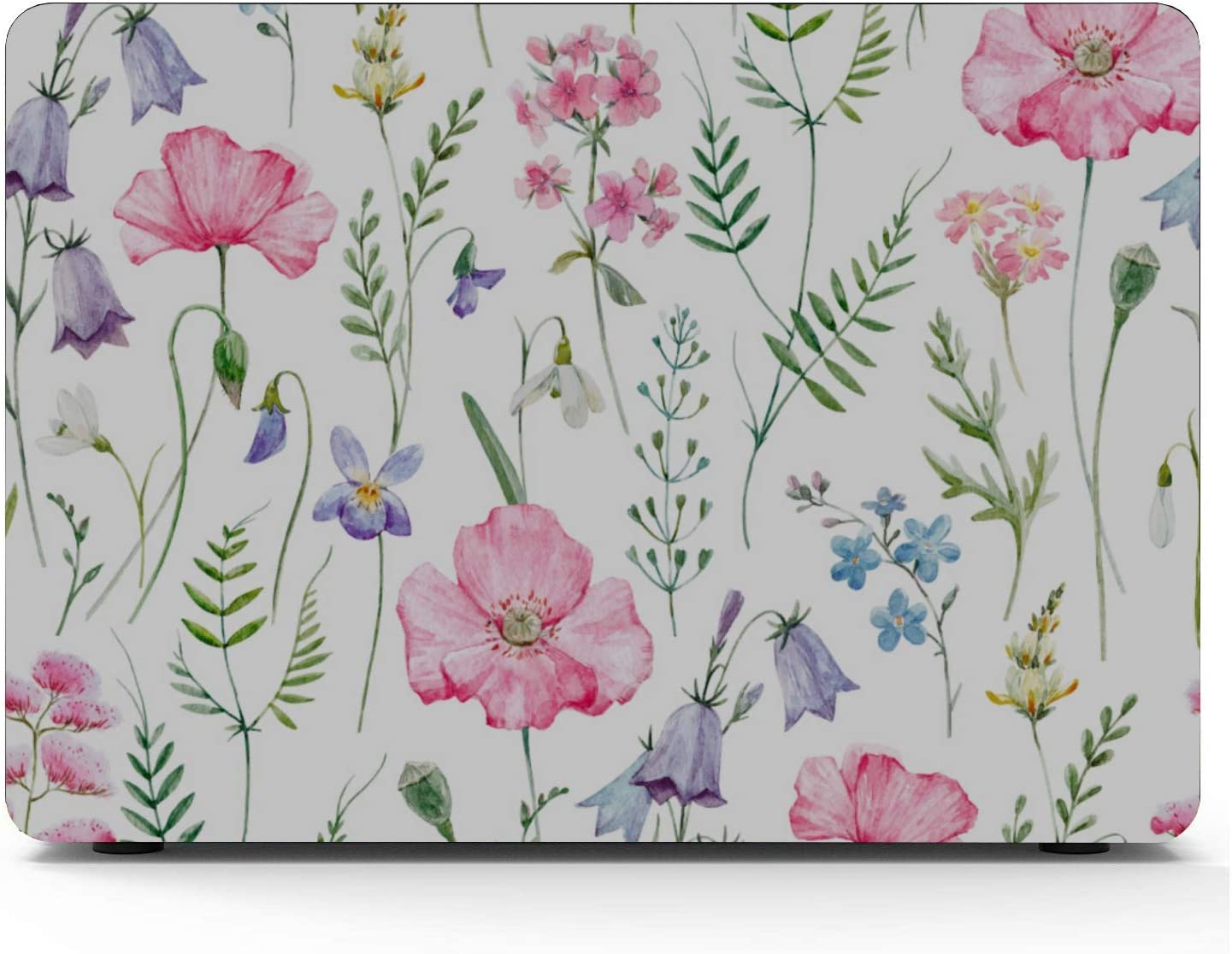 Amazon Com Macbook Air Case Floral Pattern Delicate Flower