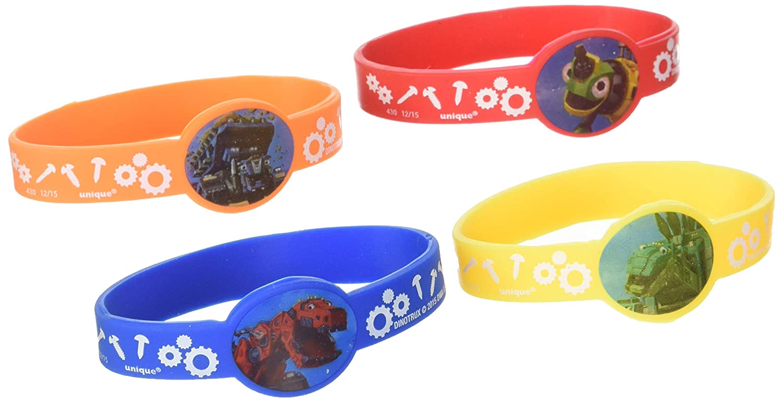 Dinotrux Stretchy Bracelets 4 per Pack