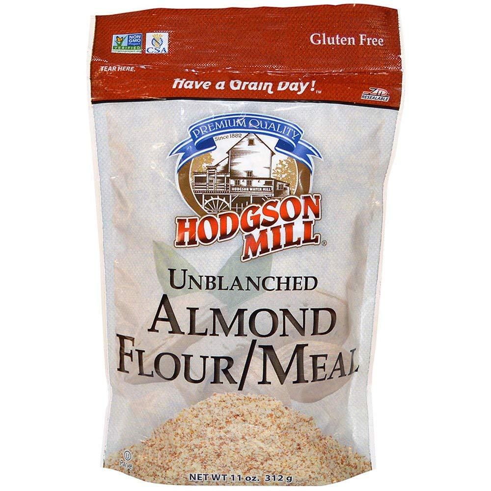 Hodgson Mill Almond Flour Gluten-Free Meal, 11 Ounce (Pack of 6) Wholesome Baking and Cooking Ingredients for Home Cooks and Healthy recipes by Hodgson Mill