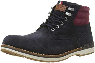 87d0f504a32cdd Tommy Hilfiger Men s Outdoor Suede Boot Combat  Amazon.co.uk  Shoes ...