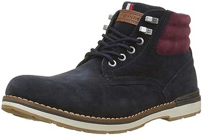 order online good texture top brands Tommy Hilfiger Men's Outdoor Suede Boot Combat: Amazon.co.uk ...