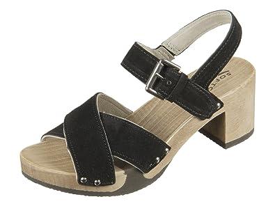 41a6d75a09337a Softclox Sandalette mit Holzboden Größe 36 Persia Hazelnut Empfehlen ...
