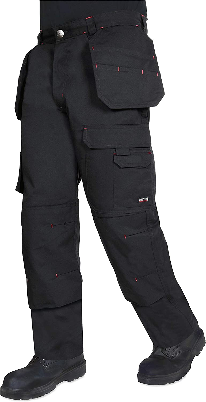 Pantaloni da Cargo con Tasche e Cuciture rinforzate ProLuxe Endurance