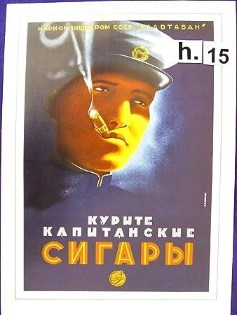Amazon.com: Ruso Publicidad Política Cartel (1930 – 60) * S ...