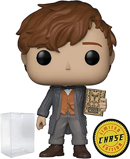 Funko Pop Fantastic Beasts 2 Newt Scamander Limited Chase