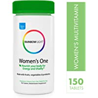Rainbow Light Women's One Multivitamin - 150 Count (Pack of 1)