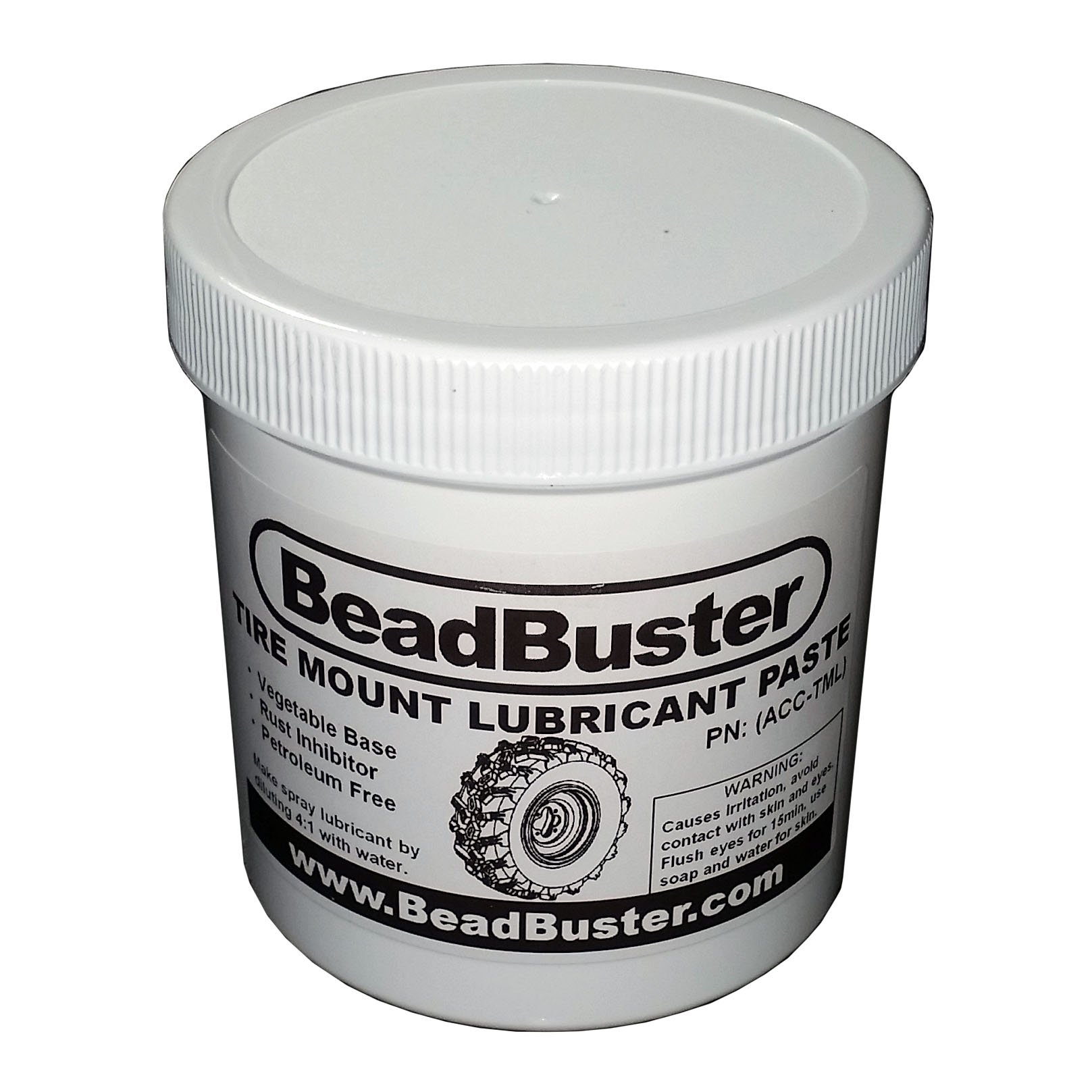 BeadBuster Tire Mounting Lubricant Paste, 1-Pint/16oz, Acc-TML by BeadBuster