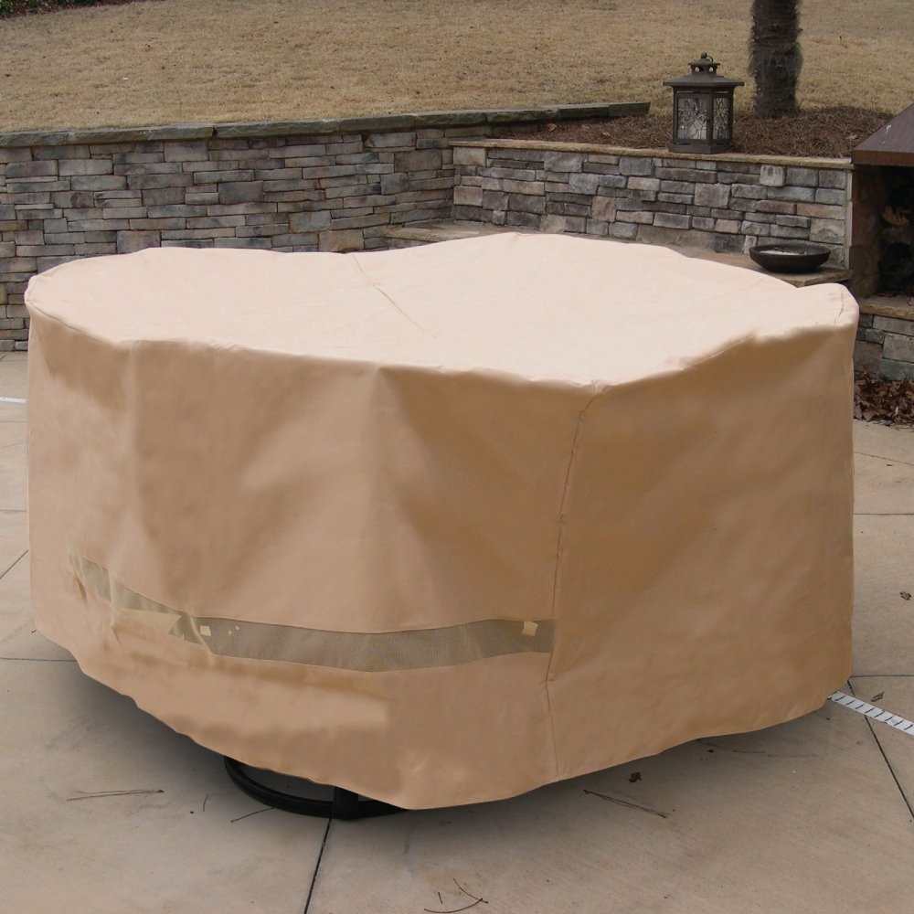 Amazon.com : Hearth U0026 Garden SF40245 Deluxe Round Table And Chair Set Cover  : Patio Chair Covers : Garden U0026 Outdoor Part 49