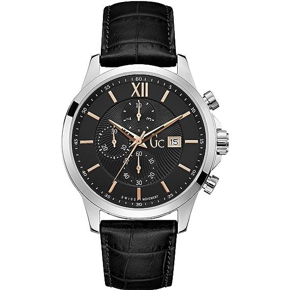 Gc Reloj cronógrafo negro clásico ejecutivo ...