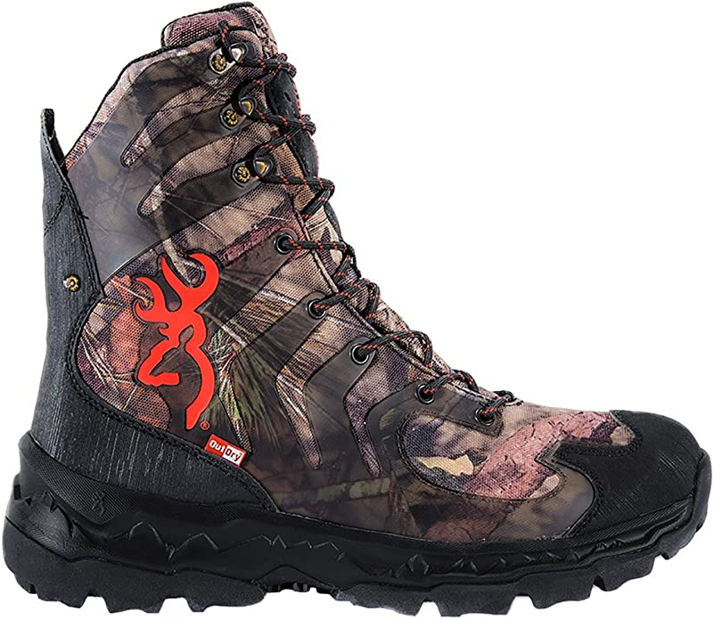 Browning Mens Buck Shadow 8in Big Game Boots 13M F000003590238 Mossy Oak Country//Black