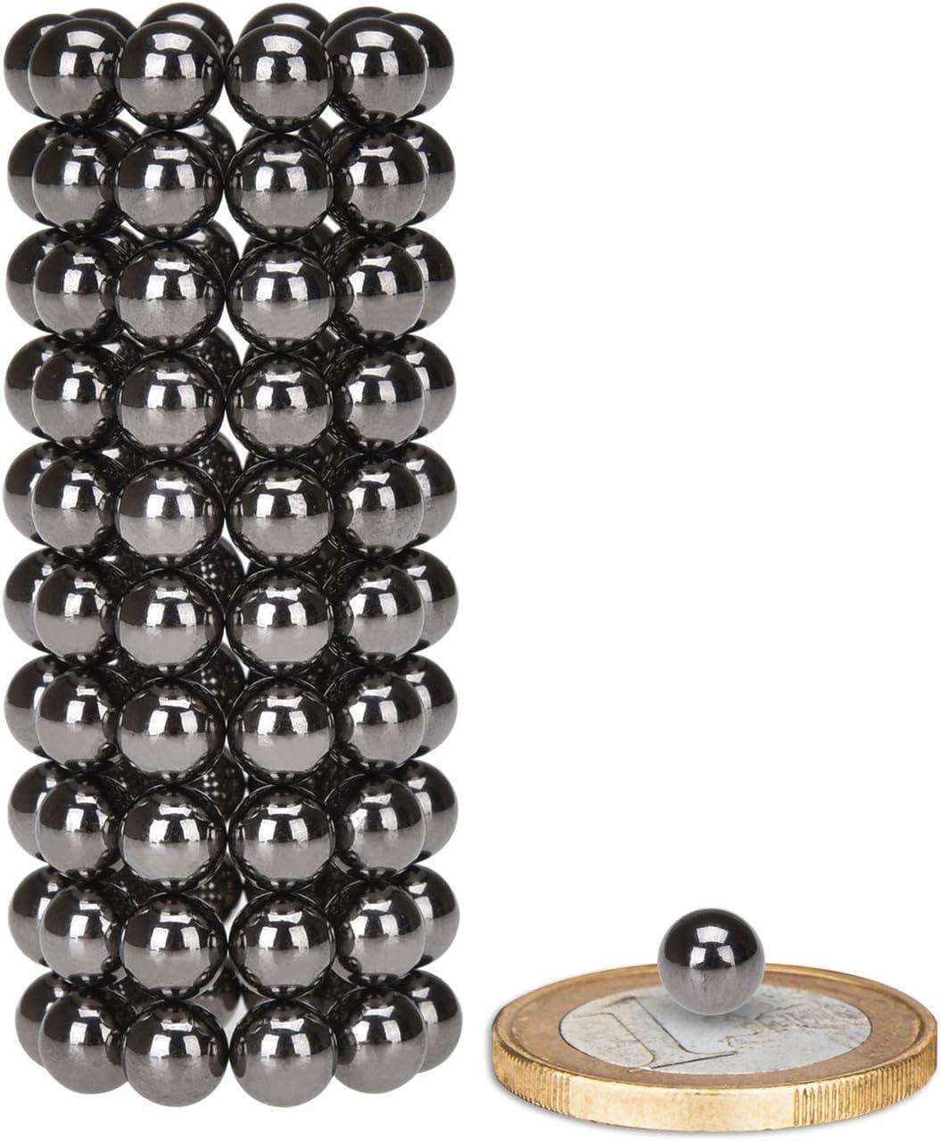 100 St/ücke K/ühlschrank Anthracite und vieles mehr- 5mm Pinnwand Tafel eLander Neodym-Super-Magnete Magnetkugeln Whiteboard Sehr starke Magnete f/ür Glas-Magnetboards Magnettafel