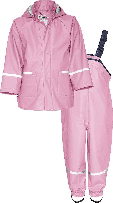 Regen-Set Basic Rain Jacket Playshoes Baby Girls Regenanzug