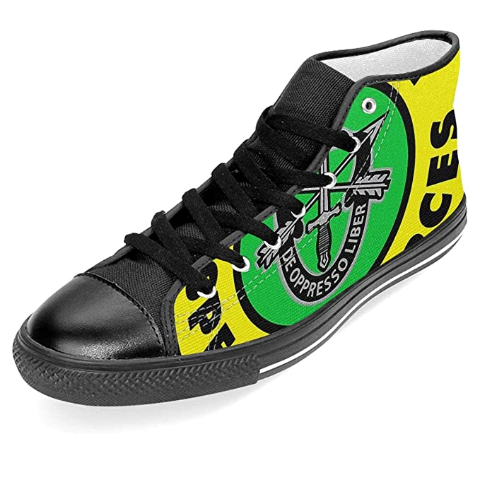 951f64aba5801 Amazon.com: US Army Special Forces Printed Unisex High-Top Lace Up ...
