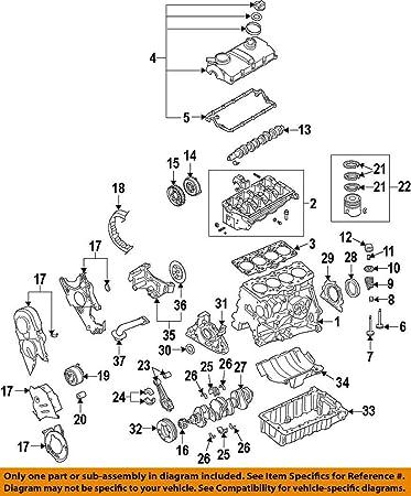 Amazon.com: Volkswagen 038 115 105 C, motor bomba de aceite ...