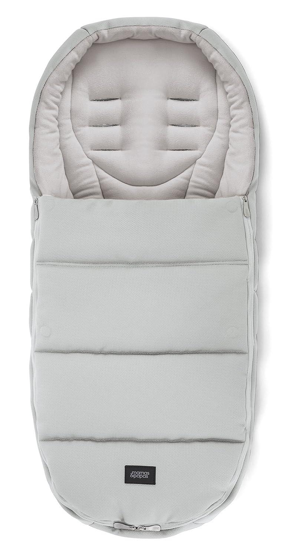 Mamas & Papas - Saco Plus para clima frío para carrito de bebé/cochecito, gris: Amazon.es: Bebé