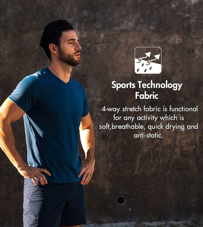 Tecnologia Rapida Asciugatura Pantaloncini Sportivi M27+M28 LAPASA Short da Uomo Sport Allenamento Jogging Pantaloni Sportivi
