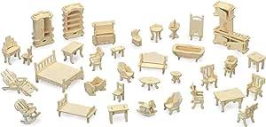 Piccolo Elefante Quay Woodcraft Kit Costruzione Legno 3D Modello M029 Age7+