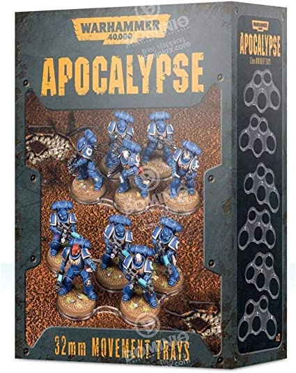 Apocalypse Movement Trays 25MM Warhammer 40K