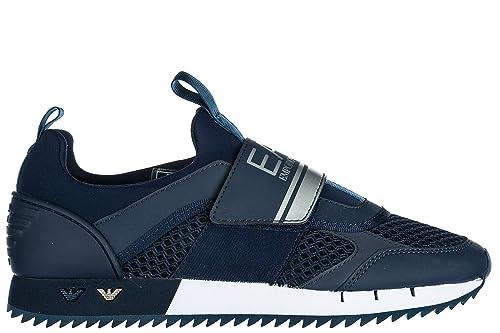 Nuove Originale Scarpe BluAmazon Emporio Armani Ea7 Sneakers Donna UqSVzpLMG