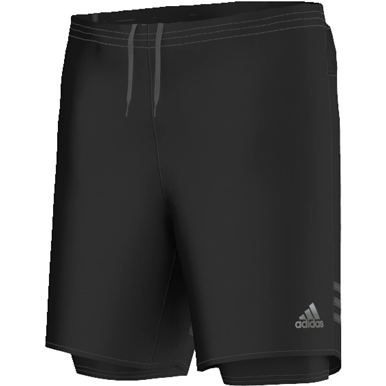 adidas Herren Response Dual Shorts, Black/Utiblk