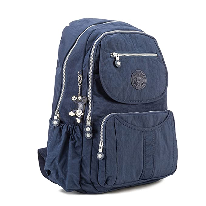 Amazon.com  School Backpack Teenage Girl Feminina Women Backpacks Female  Nylon Big Travel Backpack Laptop Color 12 27Cmx13Cmx37Cm 1365  Clothing f44216ca6dc22