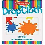 Melissa & Doug Plastic Drop Cloth (3 x 4 feet) - Fits Under Deluxe Standing Easel