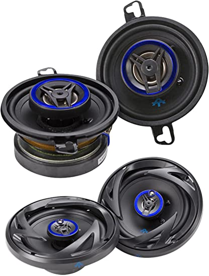 Set of 2 6.5-Inch Autotek ATS653 ATS 3-Way Full Range Speaker