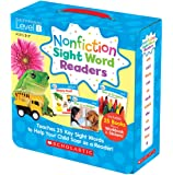 Nonfiction Sight Word Readers Parent Pack Level B: Teaches 25 key Sight Words to Help Your Child Soar as a Reader! (Nonfiction Sight Word Readers Parent Packs)