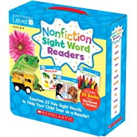 Nonfiction Sight Word Readers Parent Pack Level B: Teaches 25 key Sight Words to Help Your Child Soar as a Reader!