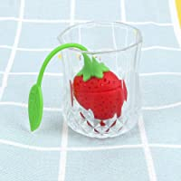 iTimo Tea Infuser Herbal Spice Filter Tools Tea Leaf Strainer Silicone Strawberry Candy Filter Bag Diffuser Teaware Accessories