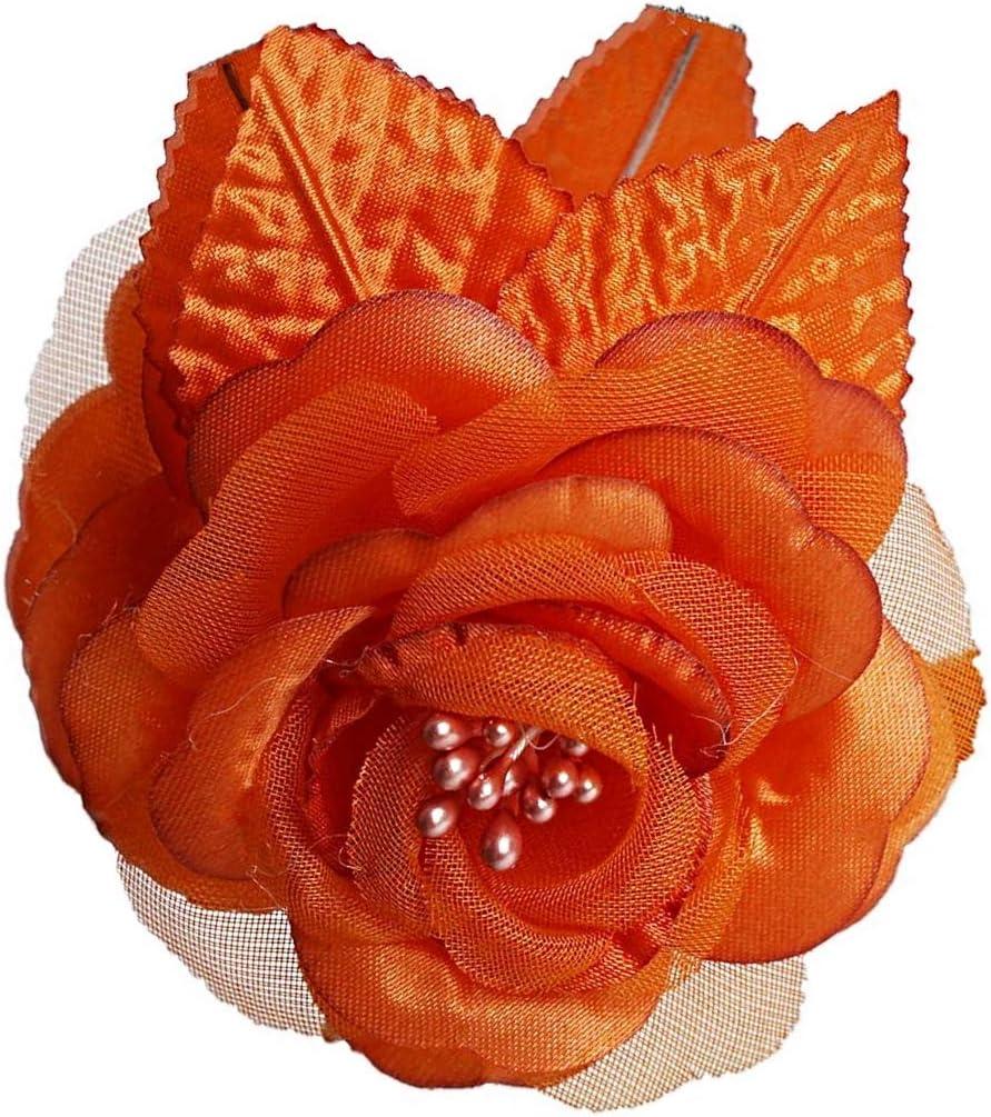 12 silk roses wedding favor flower corsage lavender 2.75