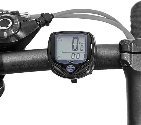 ZHANGZHIYUA Cuentakilómetros y velocímetro para Bicicletas ...