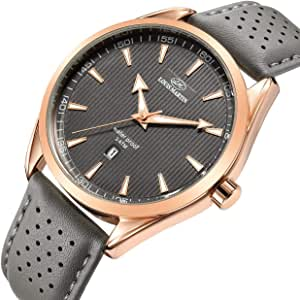 Louis Martin Casual Watch For Men Analog Leather - 9876532