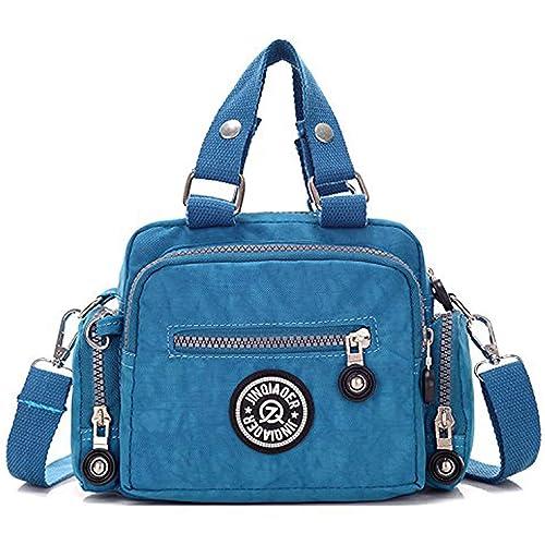 Foino Bolsos de Mano Impermeable Bolso Bandolera Mujer Bolsas de Viaje Bolsos Baratos Cartera Ligero Bolsos de Moda Messenger Bag para Sport