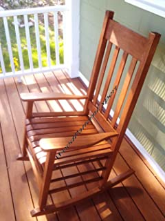 rocking chair paper plans so easy beginners look like experts build your own front porch rocker american furniture patterns