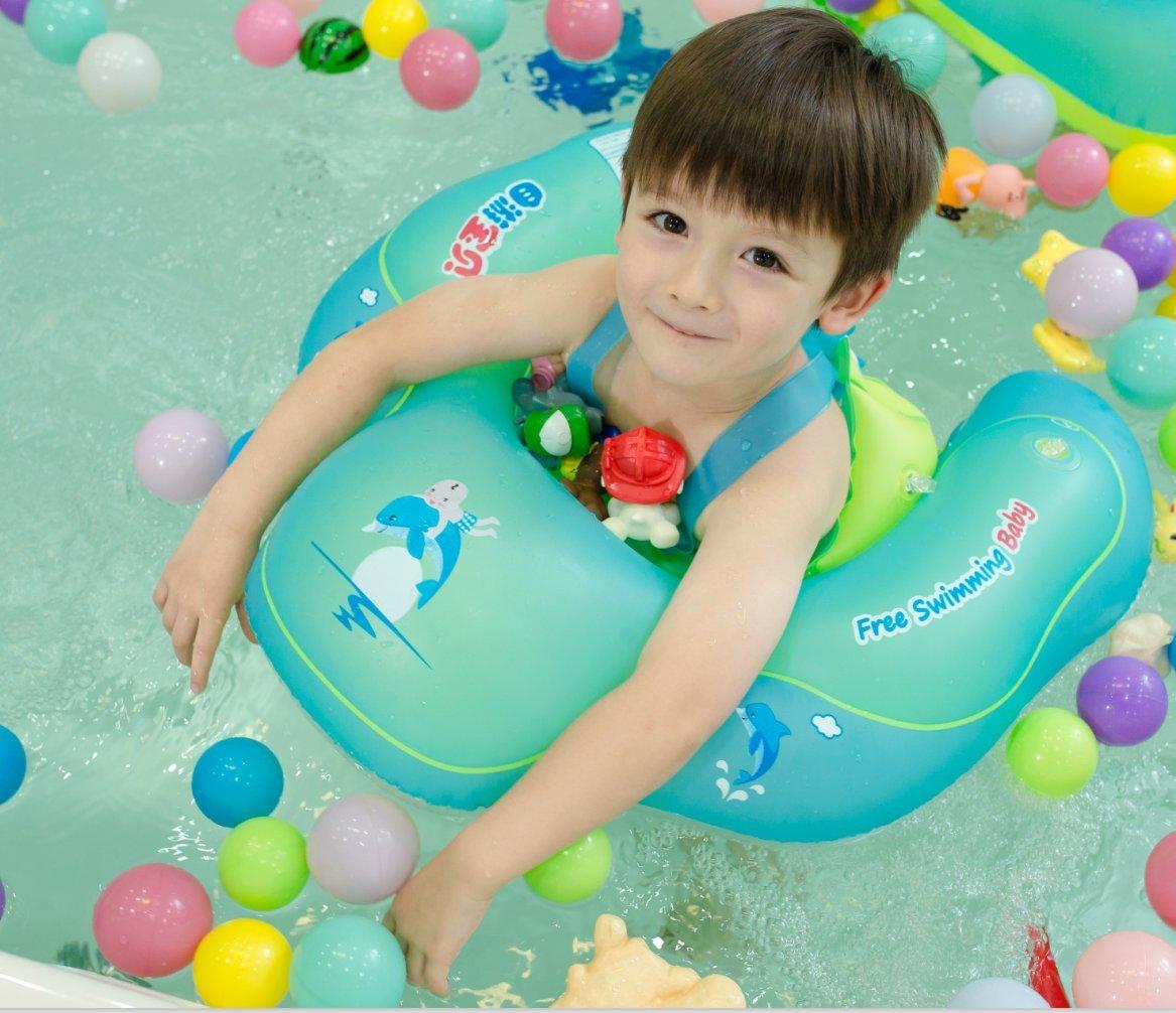 Flotador de Natación para Bebés, Honkid Anillo de Natación Bebé Juguetes de Piscina Inflable de Piscina Nadar Anillo para Niños Bebés de 2 a 6 Años de ...