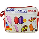 Wall's® Ice Cream Classics Lolly Lollies Retro Vintage Shoulder Messenger Bag Travel Carry Case
