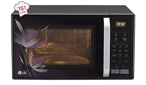 LG 21 L Convection Microwave Oven (MC2146BP, Black)