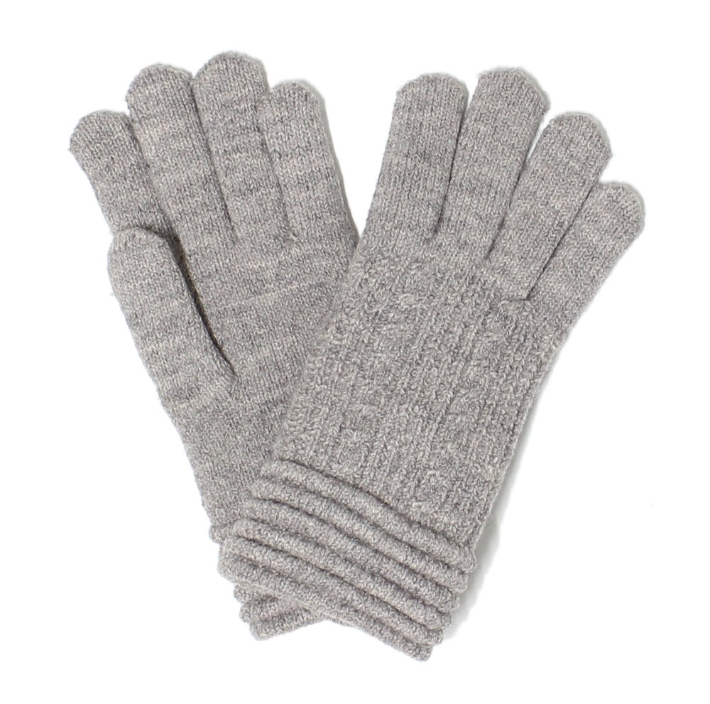 LL. Womens Warm Winter Knit Fashion Gloves, Fleece Lined- Many Styles (Beige Rib) by Accessory Necessary (Image #1)
