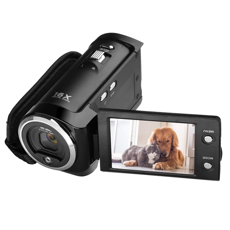 GordVE SJB29 720P 16MP Digital Video Camcorder Camera DV DVR 2.7inch TFT LCD 16x ZOOM Portable Digital Video Recorder C6