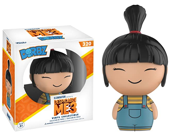 Amazon.com: Funko Dorbz Despicable Me 3 Agnes figura de ...