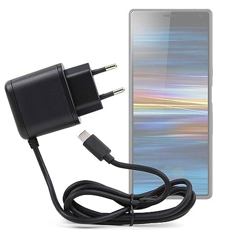 DURAGADGET Cargador de Pared USB C para Smartphone Sony ...