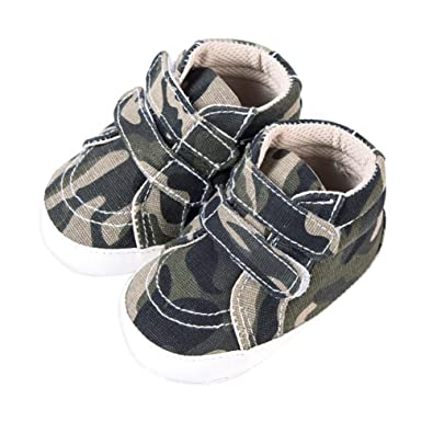 b697d4c91 Rrimin Baby Shoes Kids Toddlers Canvas Crib Camouflage Shoes for 0-1 Year  Old: Amazon.in: Shoes & Handbags