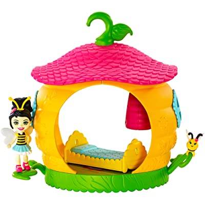 Enchantimals Beehive Bedroom Playset with Beetrice Bee Doll: Toys & Games