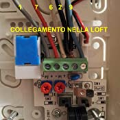 Collegare Citofono Urmet 6 Fili.Fermax Loft 3399 Citofono Universale Sistema Di Cablaggio A 5 Fili Montaggio Sopraintonaco