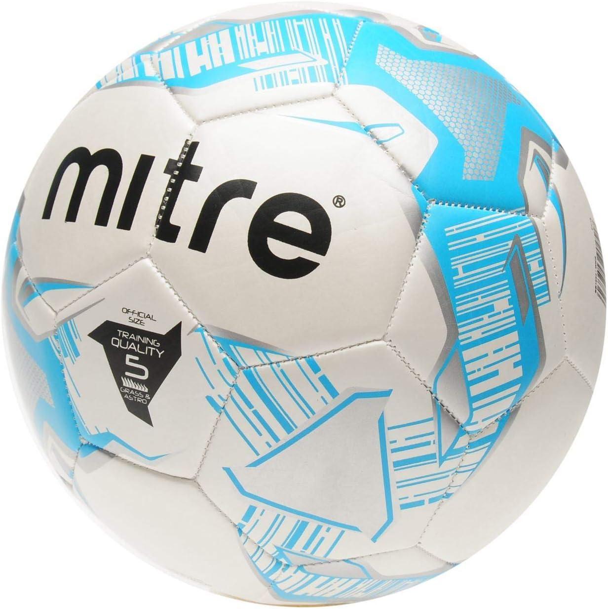 Official Mitre Junior Lite 360 - Balón de fútbol, Color Blanco y ...