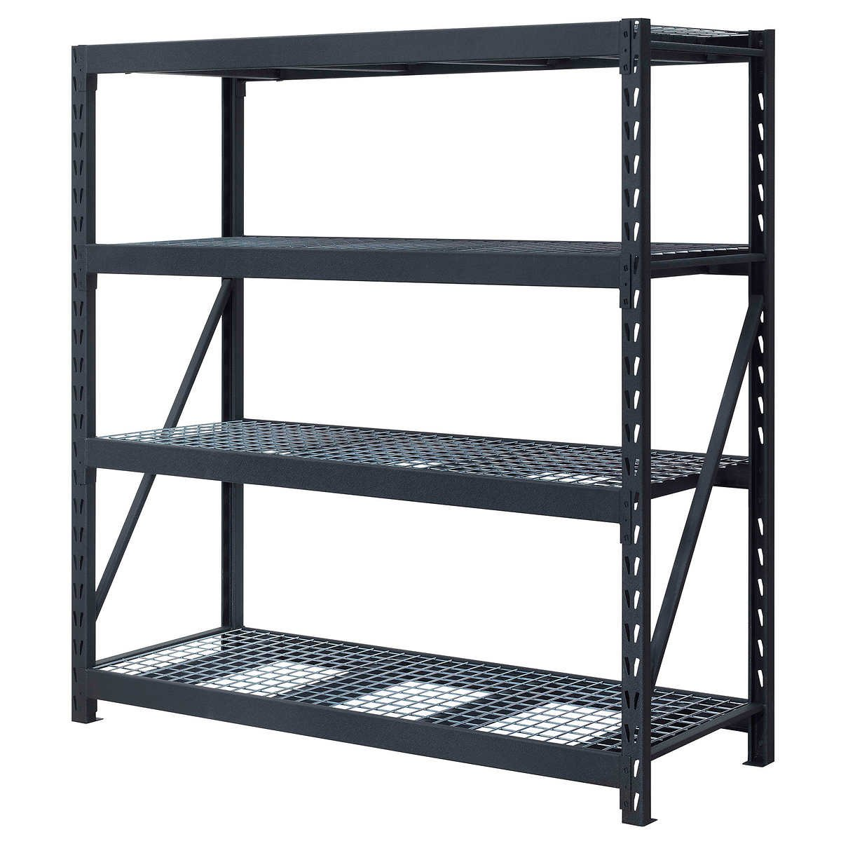 Industrial Racks, 77'' x 24'' x 72'' powder coated steel (set of 2) by Whalen
